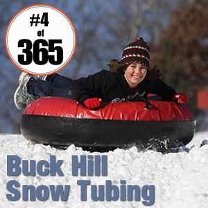 #4 of 365 Buck Hill Snow Tubing - January 4, 2015