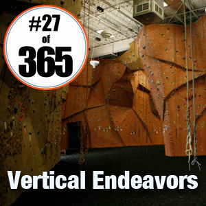 Day 27 of 365 Vertical Endeavors #365TC
