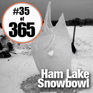 Day 35 of 365 Ham Lake Snow Bowl #365TC