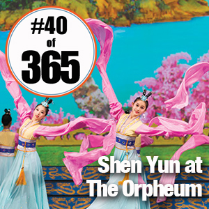 Day 40 of 365 Shen Yun at The Orpheum #365TC