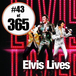 Day 43 of 365 Elvis Lives at Mystic Lake #365TC