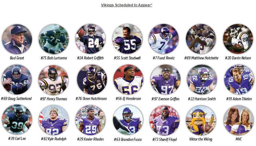Minnesota Vikings Arctic Blast 2014