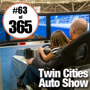 Day 63 of 365 Twin Cities Auto Show #365TC
