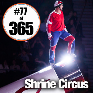 Day 77 of 365 Shrine Circus #365TC