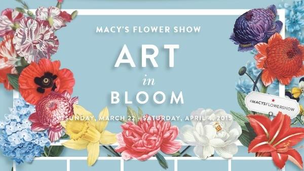 macy s flower shower art in bloom 365 twin cities