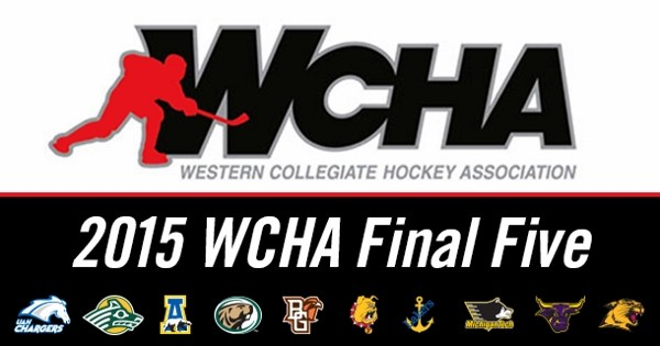 Day 73 of 365 WCHA Final Five Hockey Tournament at XCel Energy Center #365TC
