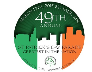 49th annual St. Patrick's Day parade button