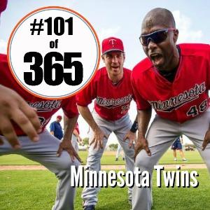 Day 101 of 365 Minnesota Twins Season Opener
