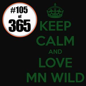 Day 105 of 365 MN Wild Pep Rally #365TC