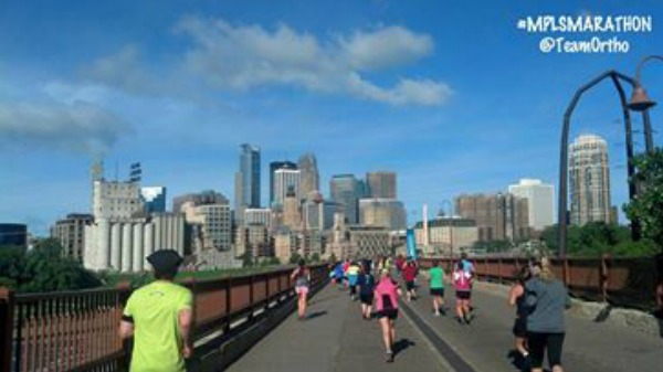 Day 120 of 365 Minneapolis Marathon #365TC