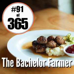 Day 91 0f 365 the Bachelor Farmer #365TC