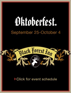 Black Forest Inn Oktoberfest 2015