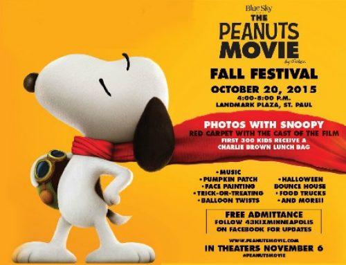 The Peanuts Movie Fall Festival