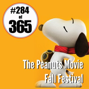 Day 284 of 365 The Peanuts Movie Fall Festival #365TC
