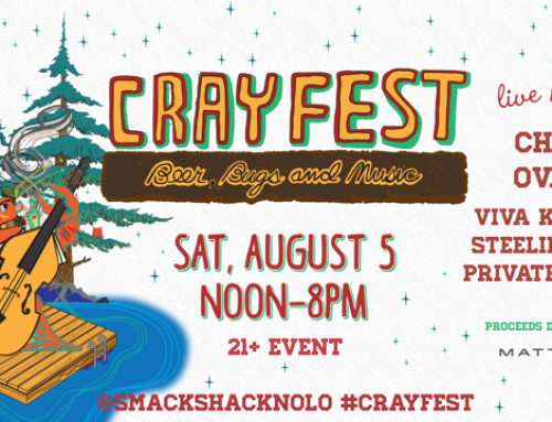 Smack Shack's 5th annual Crayfest on August 5th