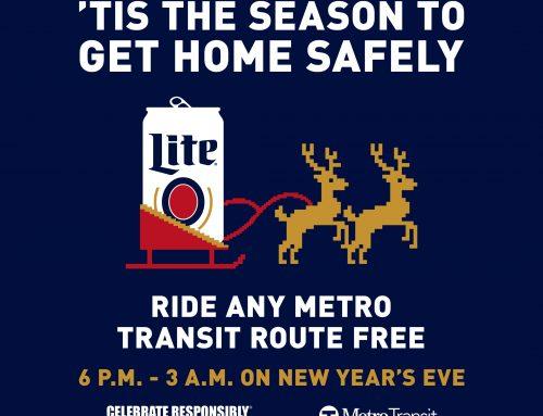 Miller Lite Free Rides for NYE