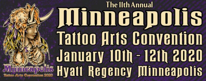 The 11th Annual Minneapolis Tattoo Arts Convention 2020