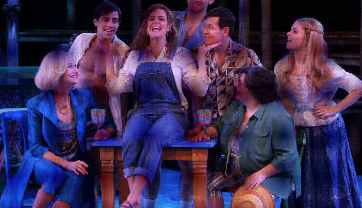 mamma mia at the chanhassen dinner theatre