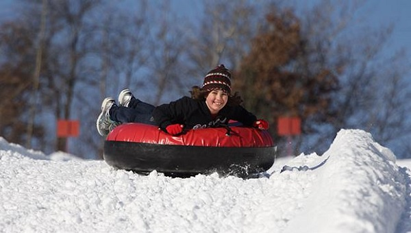 Day 4 of 365 Buck Hill Snow Tubing - January 4, 2015 #365TC
