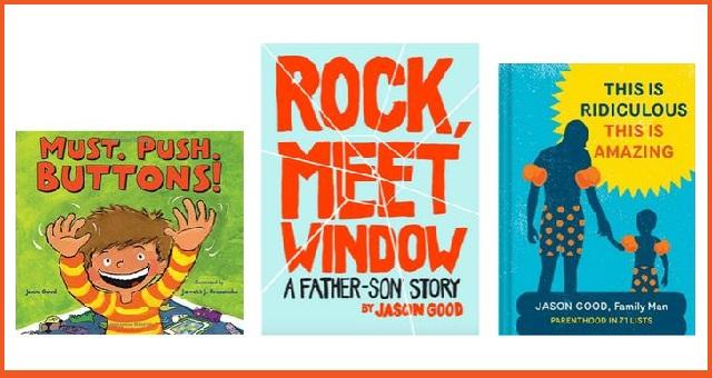 Comedian Jason Good & Illustrator Jarrett J. Krosoczka present MUST. PUSH. BUTTONS!