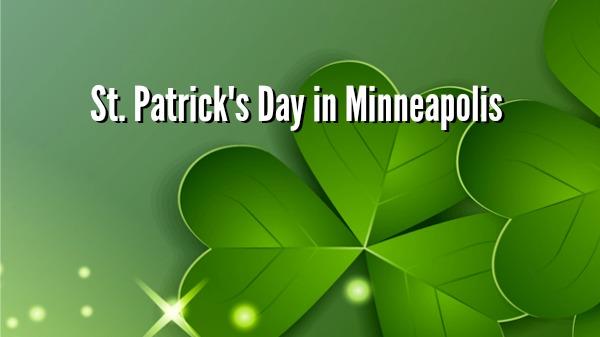 Day 68 of 365 St. Patricks Day in Minneapolis #365TC