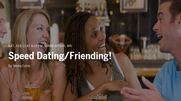 Day 32 of 365 Speed Dating Friending event