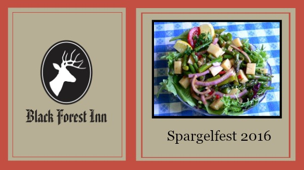 Spargelfest at Black Forest Inn