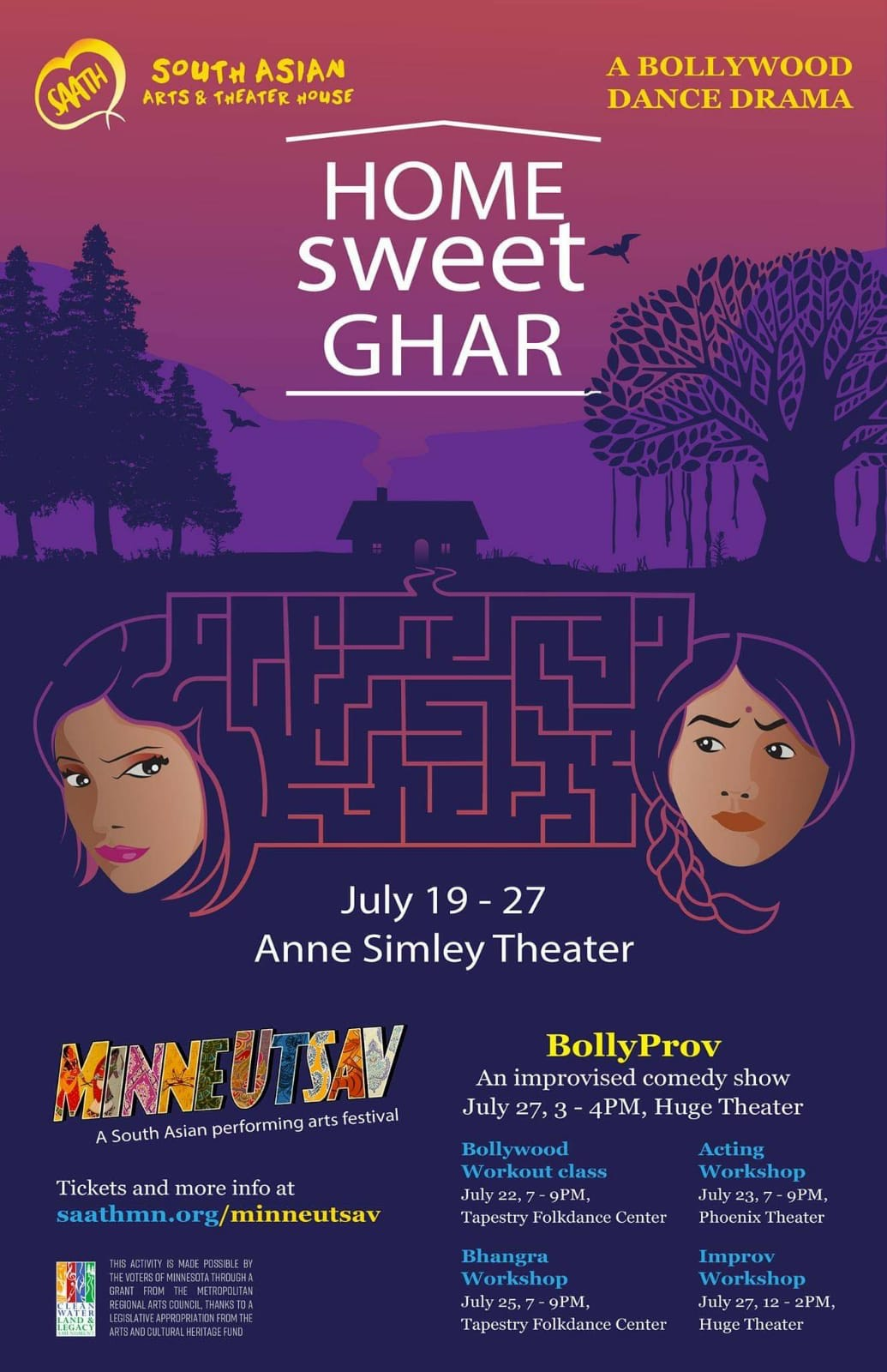 Home Sweet Ghar: Bollywood movie style dance drama