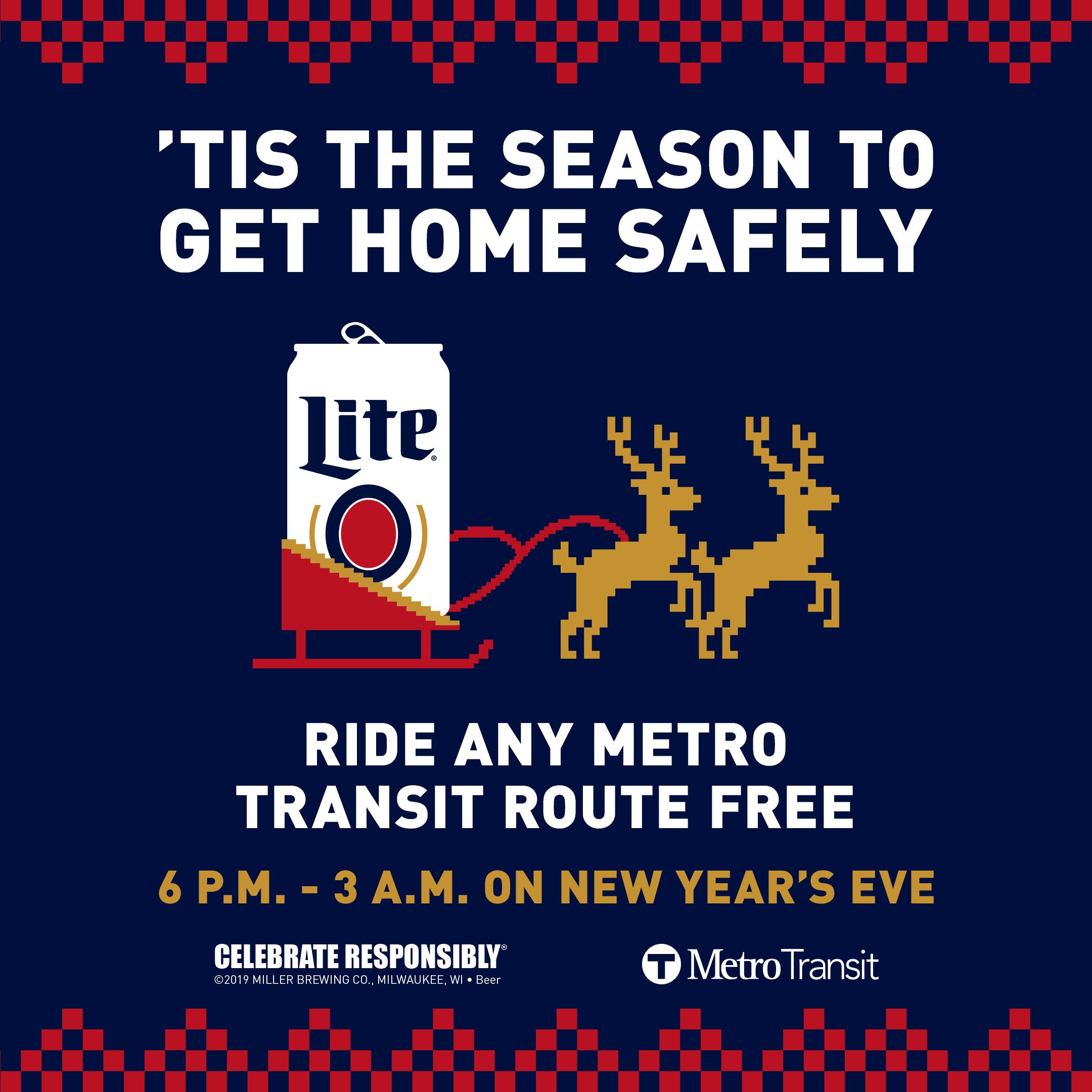 Miller Lite Free Rides 2019